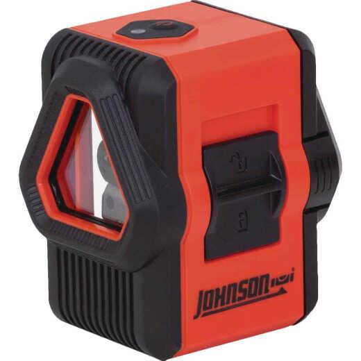 Johnson Level 100 Ft. Self-Leveling Cross-Line Laser Level