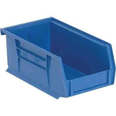 Quantum Storage Small Blue Stackable Parts Bin