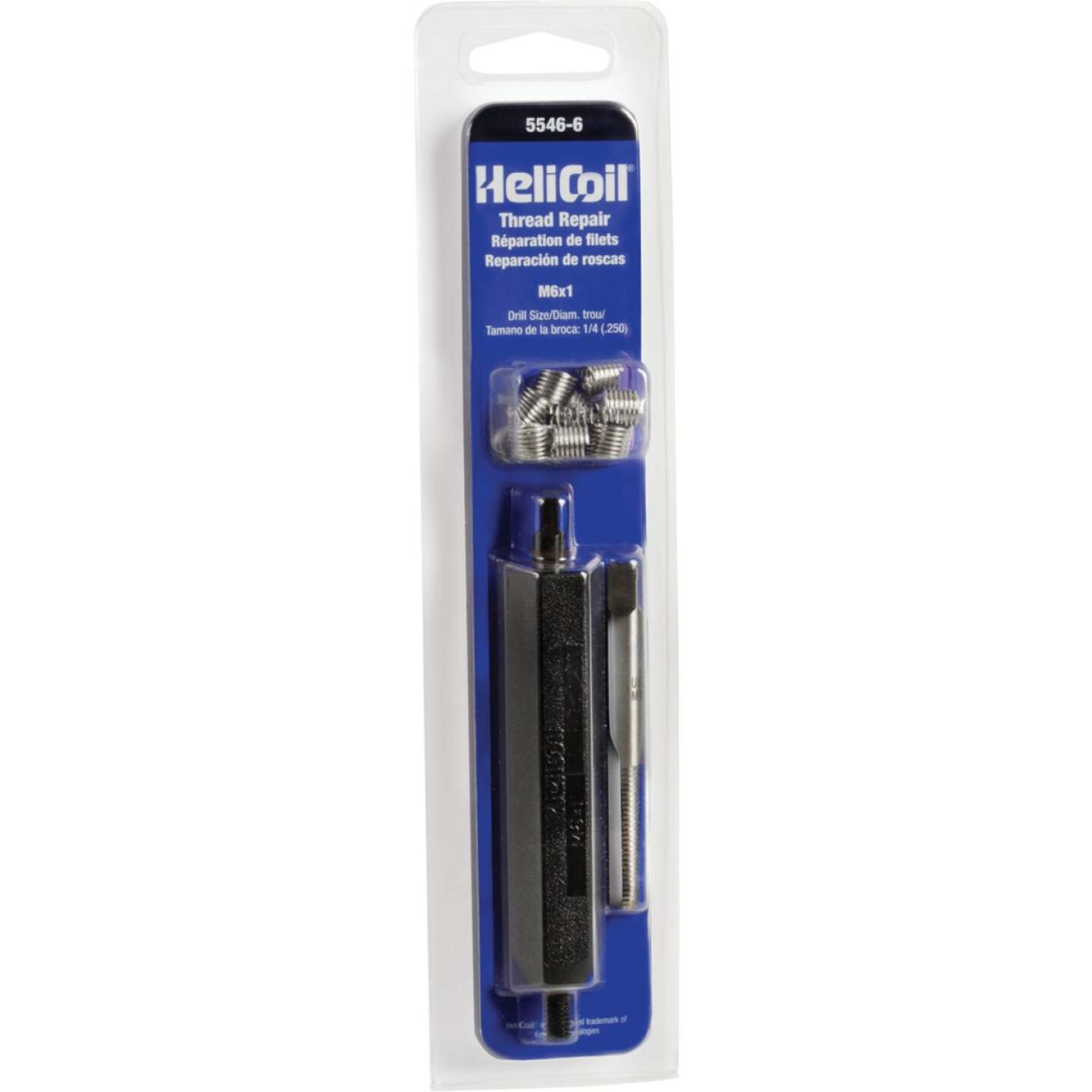 HeliCoil M6 x 1 Stainless Steel Thread Repair Kit Image 1