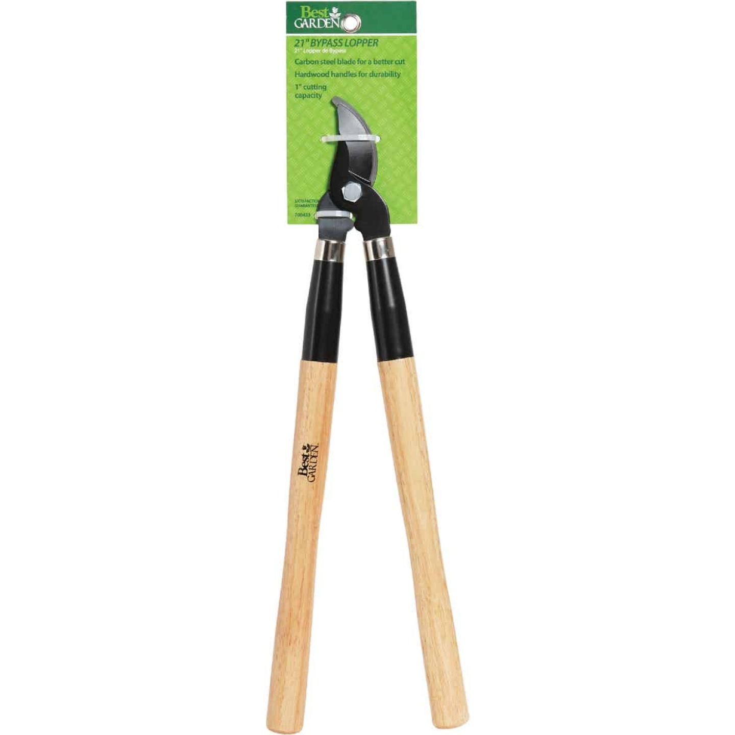 Best Garden 21 In. Wood Handle Bypass Lopper Image 2
